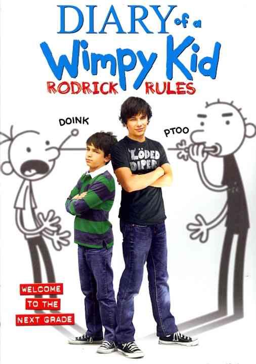 DIARY OF A WIMPY KID RODRICK RULES BY GORDON ZACHARY DVD ...